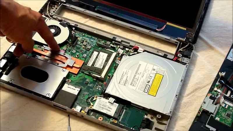 Empresa de conserto de notebook