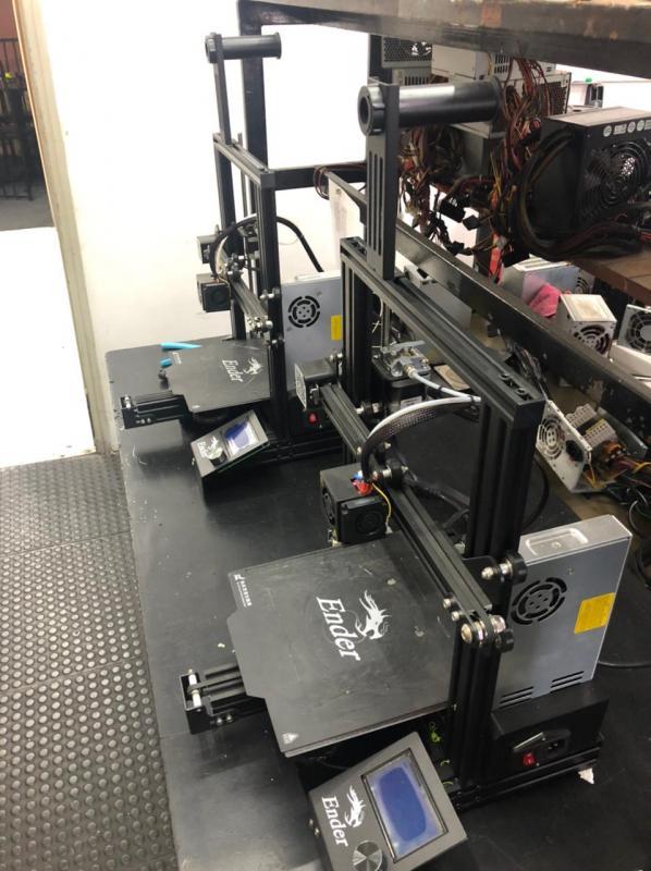 Serviço de impressão 3d online