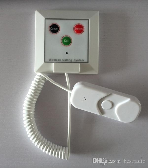 Sistema de chamada de emergencia hospitalar